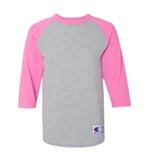 T137 Champion three-quarter raglan sleeve baseball t-shirt