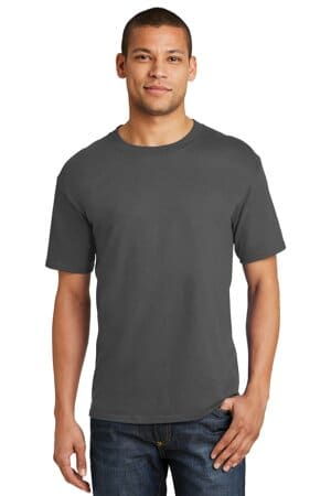 5180 hanes beefy-t-100% cotton t-shirt