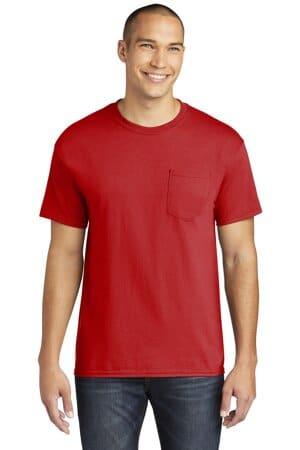 5300 gildan heavy cotton 100% cotton pocket t-shirt