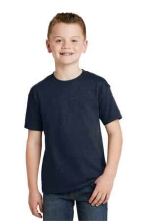 5370 hanes-youth ecosmart 50/50 cotton/poly t-shirt