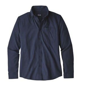 53900 Patagonia Mens L/S Vjosa River Pima Cotton Shirt