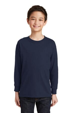 5400B gildan youth heavy cotton 100% cotton long sleeve t-shirt