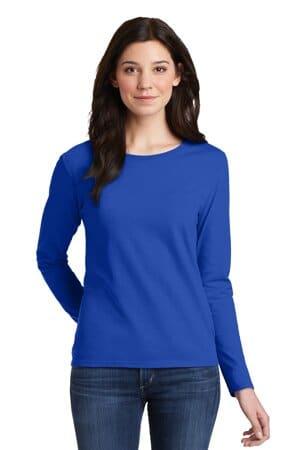 5400L gildan ladies heavy cotton 100% cotton long sleeve t-shirt