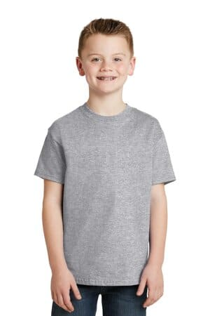 5450 hanes-youth authentic 100% cotton t-shirt