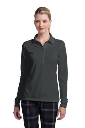 nike ladies long sleeve dri-fit stretch tech polo 545322