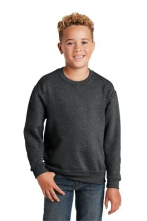 562B jerzees-youth nublend crewneck sweatshirt