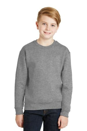 562B jerzees-youth nublend crewneck sweatshirt 562b
