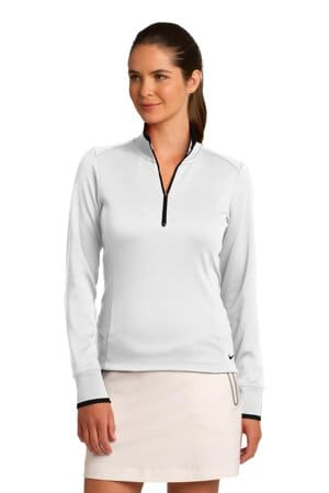 nike ladies dri-fit 1/2-zip cover-up 578674