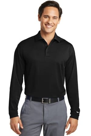 nike tall long sleeve dri-fit stretch tech polo 604940