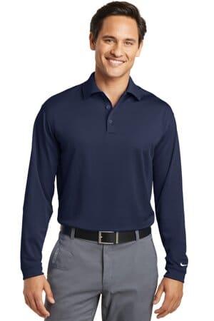 604940 nike tall long sleeve dri-fit stretch tech polo