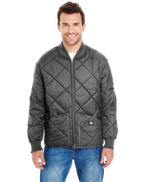 61242 Dickies unisex diamond quilted nylon jacket