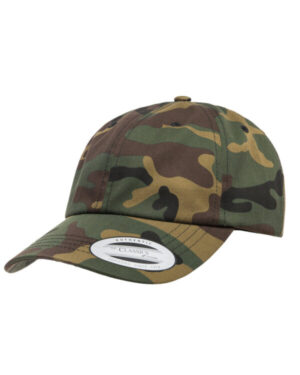 Yupoong 6245CM adult low-profile cotton twill dad cap