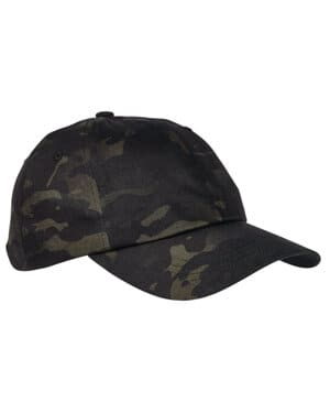 6245MC Yupoong low profile cotton twill multicam cap