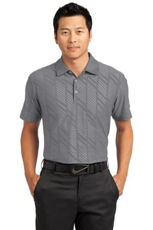 632412 nike dri-fit embossed polo