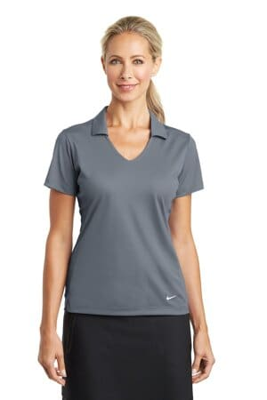 nike ladies dri-fit vertical mesh polo 637165