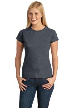 64000L gildan softstyle ladies t-shirt