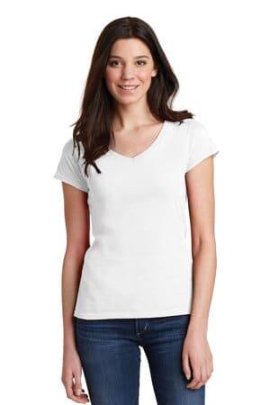 64V00L gildan softstyle women's fit v-neck t-shirt