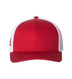 A627 Adidas mesh-back colorblocked cap