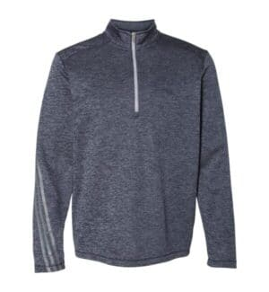 A284 Adidas brushed terry heathered quarter-zip pullover