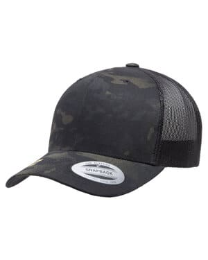 6606MC Yupoong retro trucker multicam snapback