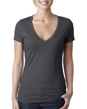 Next level 6640 ladies' cvc deep v-neck t-shirt