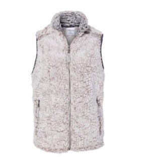 J america 8456 womens epic sherpa full-zip vest