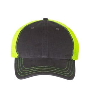 111 Richardson garment-washed trucker cap