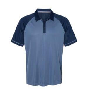 A207 Adidas climacool jacquard raglan sport shirt