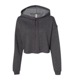 7502 Bella  canvas women's cropped fleece hoodie