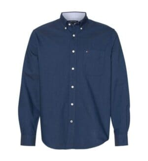 13H1864 Tommy hilfiger new england solid oxford shirt