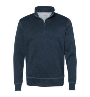 198188 vintage sweaterfleece quarter-zip sweatshirt