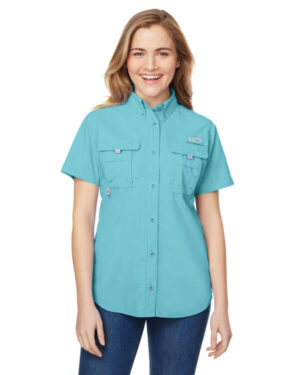 Columbia 7313 ladies' bahama short-sleeve shirt