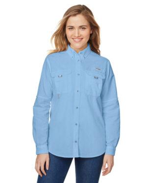 Columbia 7314 ladies' bahama long-sleeve shirt