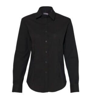 13V0462 Van heusen women's flex 3 shirt with four-way stretch