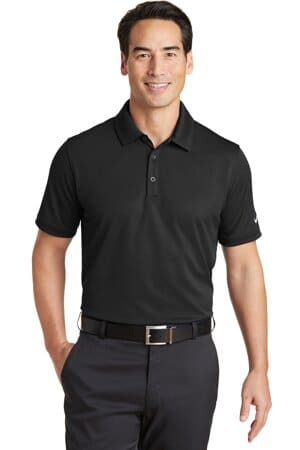 nike dri-fit solid icon pique modern fit polo 746099