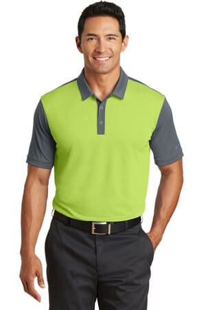 nike dri-fit colorblock icon modern fit polo 746101