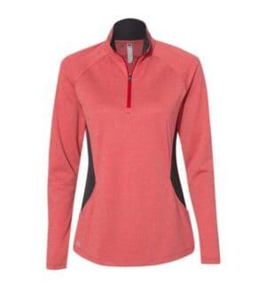 A281 Adidas women's lightweight quarter-zip pullover