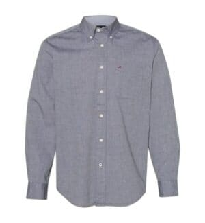 13H1861 Tommy hilfiger capote end-on-end chambray shirt