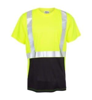 9162 Ml kishigo class 2 black bottom t-shirt
