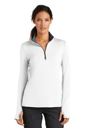 nike ladies dri-fit stretch 1/2-zip cover-up 779796