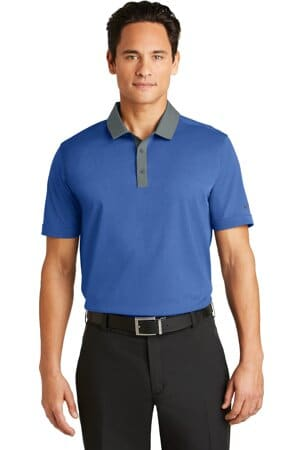nike dri-fit heather pique modern fit polo 779798