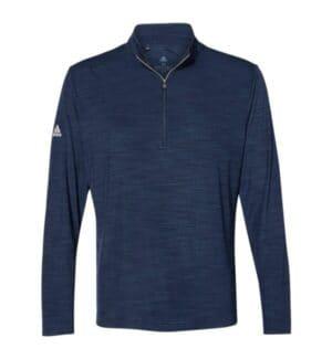 A475 Adidas lightweight mlange quarter-zip pullover
