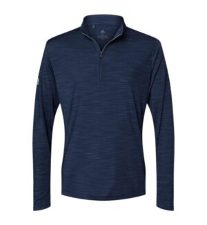 Adidas A475 lightweight mlange quarter-zip pullover
