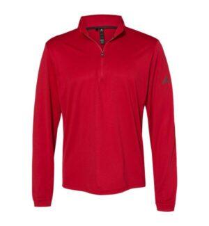 Adidas A401 lightweight quarter-zip pullover