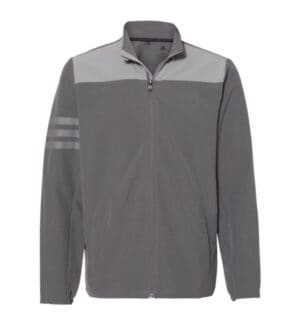 A267 Adidas climastorm 3-stripes jacket