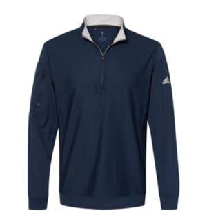 A295 Adidas performance texture quarter-zip pullover