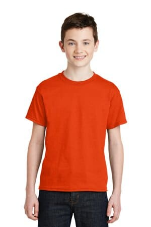 8000B gildan-youth dryblend 50 cotton/50 poly t-shirt