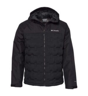186452 Columbia grand trek hooded down jacket