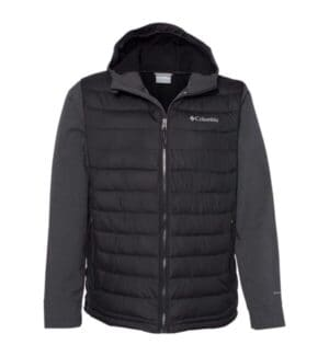 186463 Columbia powder lite hybrid jacket
