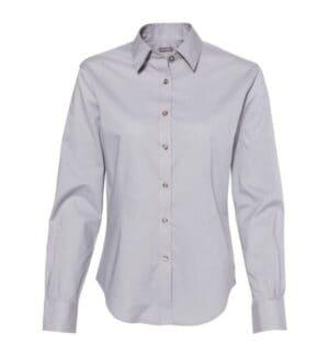 13V5053 Van heusen women's cotton/poly solid point collar shirt